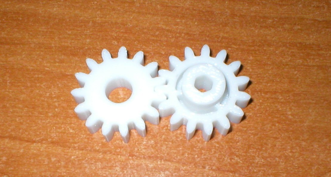 3d printed working gears