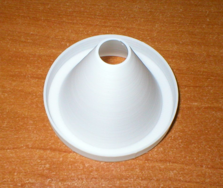 3d printed prototype cone part